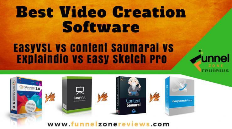 Best Video Creation Software - EasyVSL vs Content Saumarai